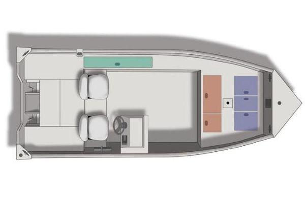 Crestliner Backwater 1860 2011 Crestliner Boats for Sale