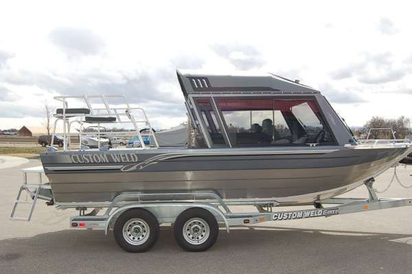 2011 Custom Weld Storm 21ft Boats Yachts For Sale