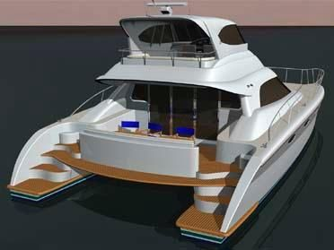 Boats for Sale & Yachts Garry Lidgard NZL48 Power Catamaran 2011 Catamaran Boats for Sale