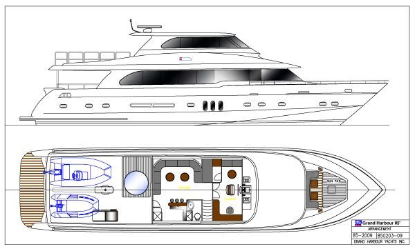 Grand Harbour Ruby Motor Yacht 2011 All Boats