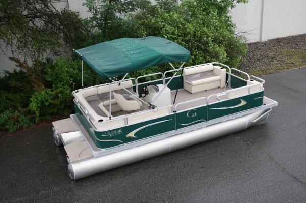 GRAND ISLAND PONTOON BOATS 20 FT GRAND ISLAND U 2011 Pontoon Boats for Sale