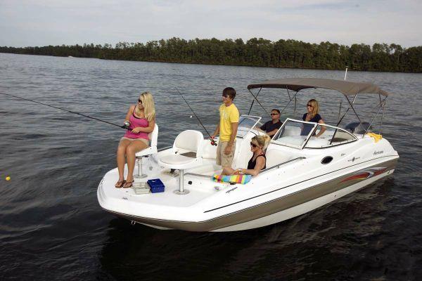 Hurricane Sun Deck 237 OB 2011 All Boats