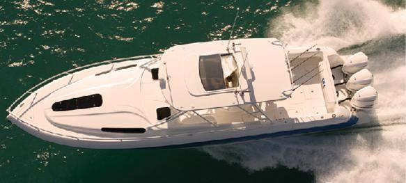 Intrepid Cuddy White Hull 2011 Sailboats for Sale