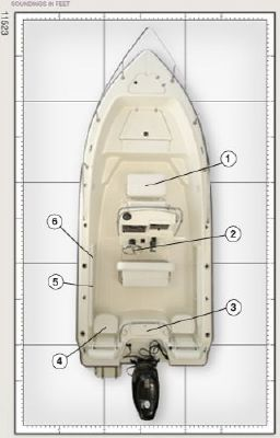 Key West ** Best Offer ** 186 Sportsman Center Console w/ TRAILER 2011 Key West Boats for Sale