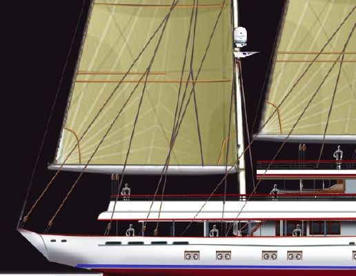 Boats for Sale & Yachts Pavel Shaposhnikov Design 3 Masted Schooner 2011 Motor Boats Schooner Boats for Sale