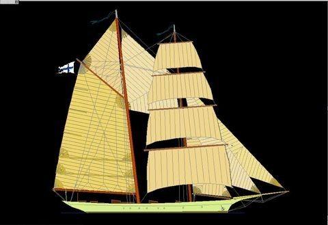 Boats for Sale & Yachts Pavel Shaposhnikov Design Custom made 39m Classic Schooner 2011 Motor Boats Schooner Boats for Sale