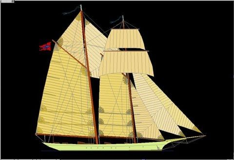 Boats for Sale & Yachts Pavel Shaposhnikov Design Custom Made Classic Schooner 2011 Motor Boats Schooner Boats for Sale