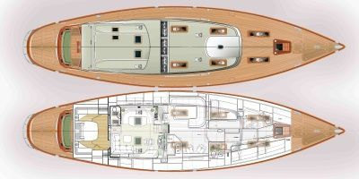 Pavel Shaposhnikov Design Little Princess Isabella of Denmark 2011 Motor Boats Princess Boats for Sale