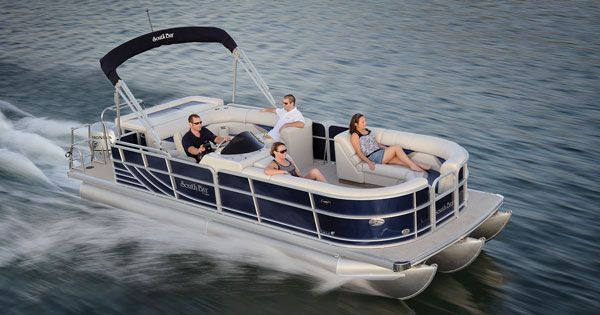 Boats for Sale & Yachts South Bay Pontoons 722CR TT 2011 Pontoon Boats for Sale