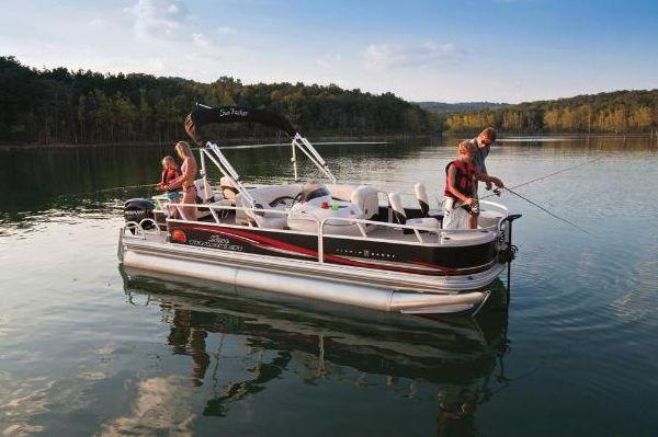 Sun Tracker FISHIN' BARGE 21 Signature Series 2011 Sun Tracker Boats for Sale