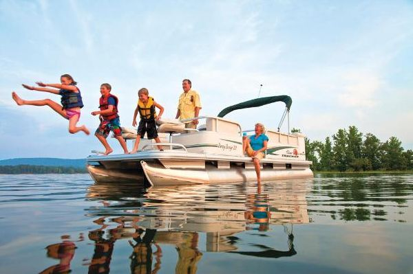 Sun Tracker PARTY BARGE 20 Classic Series 2011 Sun Tracker Boats for Sale