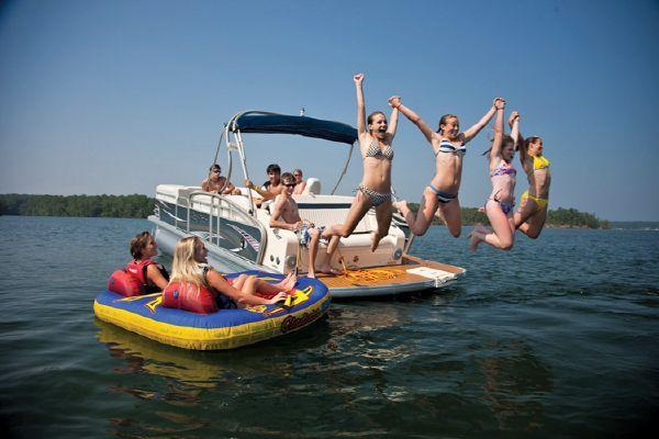 Aqua Patio 220 BC 4 2012 All Boats