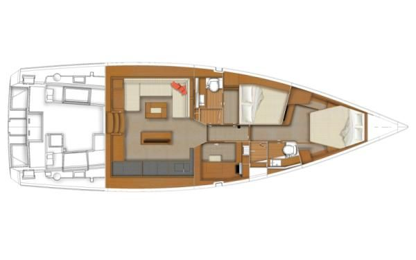 Boats for Sale & Yachts Beneteau USA Sense 50 2012 Beneteau Boats for Sale