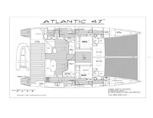 Boats for Sale & Yachts Chris White Designs/Alwopast Atlantic 47 2012 Fishing Boats for Sale