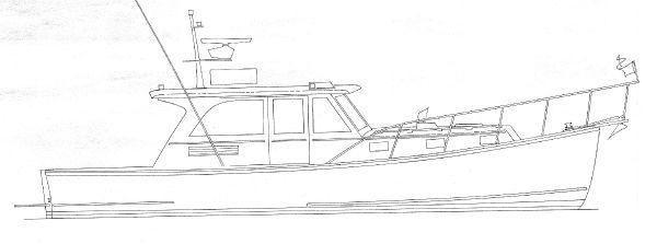 EAST COAST 38 Downeast Lobster Sportfish Cruiser 2012 Sportfishing Boats for Sale