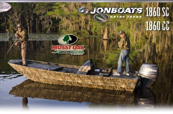 G3 1860 SC Shadow Grass Camo (PSJ) 2012 All Boats