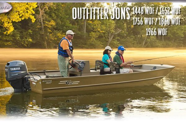 G3 Outfitter 1652WOF (PSJ) 2012 All Boats