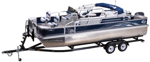 G3 Sun Catcher LV 228 Fish & Cruise Vinyl (PSJ) 2012 Sun Tracker Boats for Sale