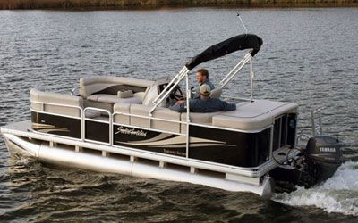 2012 Godfrey Sweetwater 2086 Pontoon With 50 Hp Yamaha 4