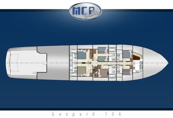 MCP 106 Guepard 2012 All Boats
