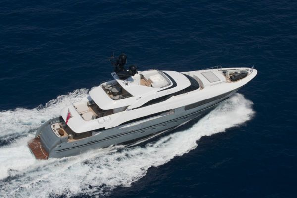 Mondomarine Semi Displacement 41 meters 2012 All Boats
