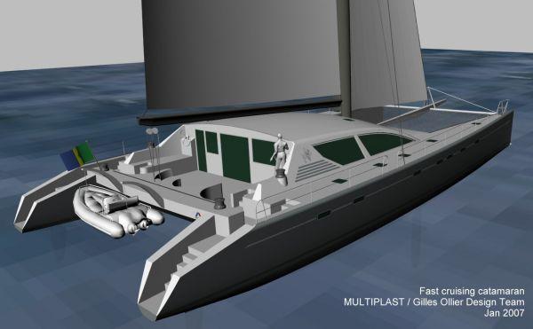 Multiplast Custom Luxury Sailing Catamaran 2012 Catamaran Boats for Sale