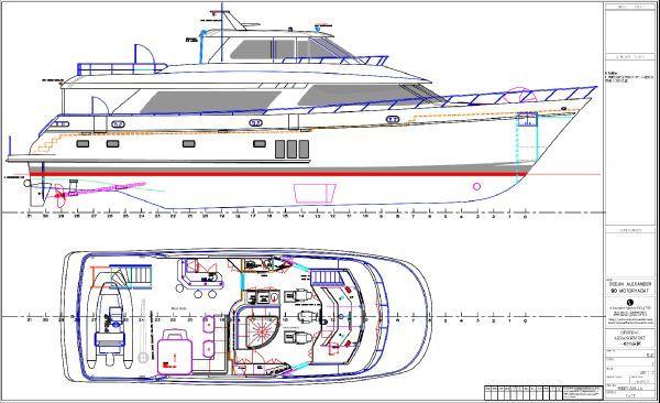 Ocean Alexander Motor Yacht Stock #007 2012 Motor Boats Ocean Alexander Boats