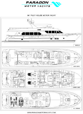 Paragon Pilot House Motor Yacht 2012 All Boats