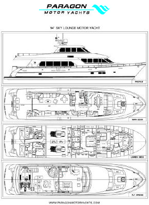 Paragon Sky Lounge Motor Yacht 2012 All Boats