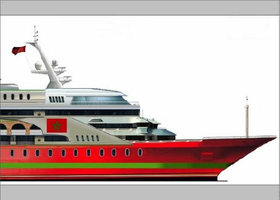 Pavel Shaposhnikov Design Crown Prince Moulay Hassan 2012 Crownline Boats for Sale Motor Boats