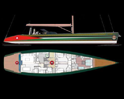 Boats for Sale & Yachts Pavel Shaposhnikov Design His Majesty King Abdullah II of Jordan Fast Cruising Sloop or Ketch 2012 Motor Boats Sloop Boats For Sale