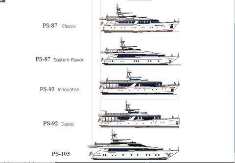 Boats for Sale & Yachts Pavel Shaposhnikov Design PS 87 Classic 2012 Motor Boats
