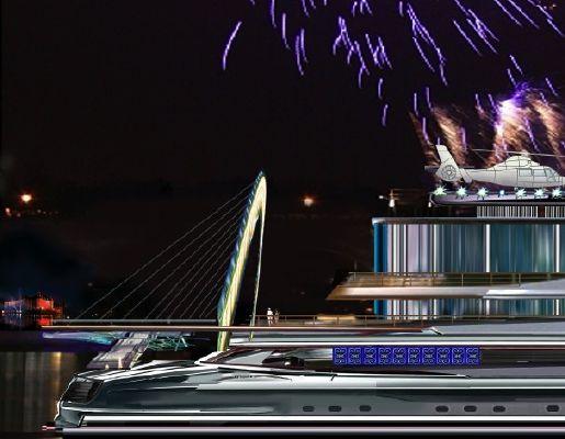 Pavel Shaposhnikov Design Residential Mega Yacht 2012 Motor Boats