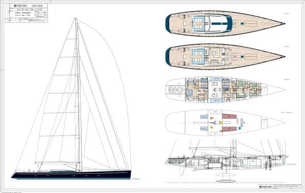 PERINI NAVI 38M Cruising/Racing Sailboat 2012 All Boats