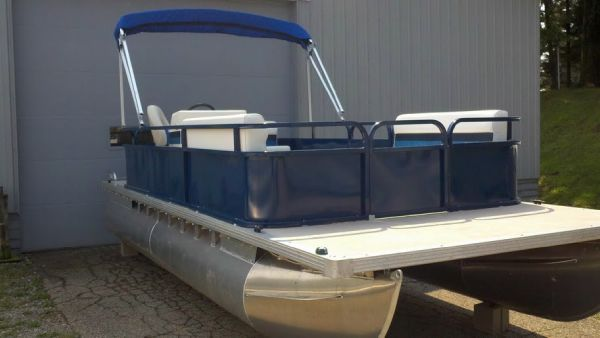 Boats for Sale & Yachts Pleasure Isle 20' Cruise Pontoon 2012 Pontoon Boats for Sale