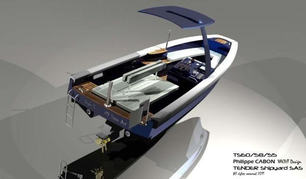 Boats for Sale & Yachts Tender Shipyard SAS TS60 Inboard 2012 All Boats