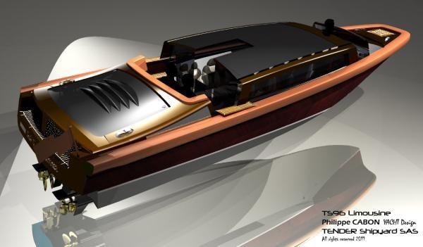 Tender Shipyard SAS TS96 Limousine 2012 All Boats