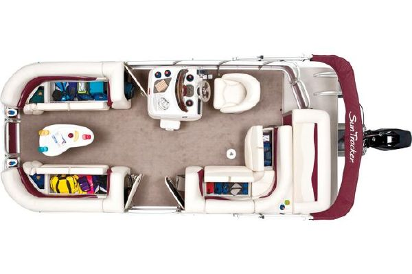Boats for Sale & Yachts Tracker SIGNATURE SERIES PARTY BARGE 21 2012 Sun Tracker Boats for Sale