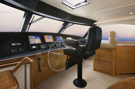 Viking Yacht Enclosed Bridge 2012 Viking Boats for Sale