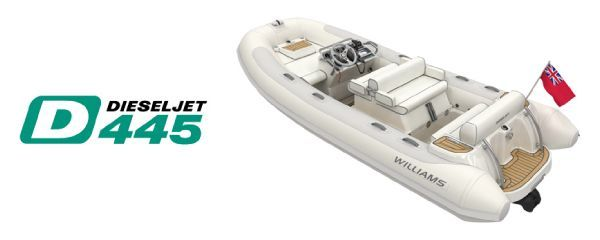 Boats for Sale & Yachts Williams Performance Tenders 445 Dieseljet 2012 Jet Boats for Sale Motor Boats