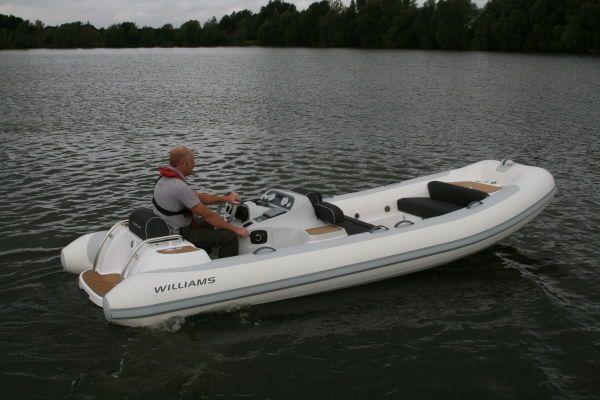 Williams Performance Tenders 505D Turbojet 2012 Jet Boats for Sale Motor Boats