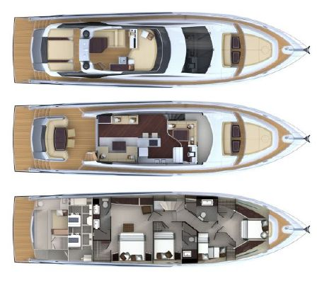 Boats for Sale & Yachts Lazzara LMY64 2013 All Boats