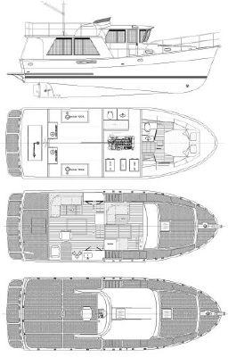 2013 mariner yachts international seville pilothouse  10 2013 Mariner Yachts International Seville Pilothouse