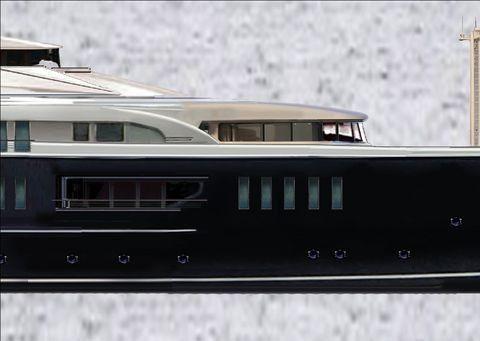 Pavel Shaposhnikov Design 62 meter Displacement MY 2013 Motor Boats