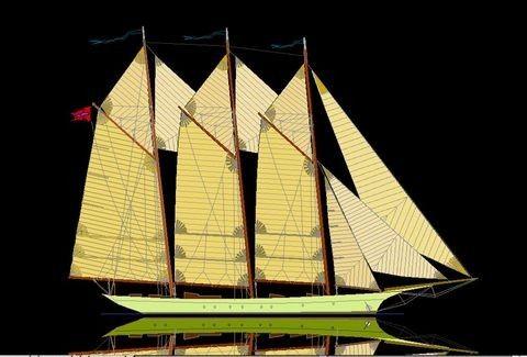Boats for Sale & Yachts Pavel Shaposhnikov Design Custom made 39m Classic Schooner 2013 Motor Boats Schooner Boats for Sale