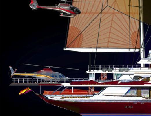 Pavel Shaposhnikov Design H.M. Juan Carlos I of Spain 2013 Motor Boats