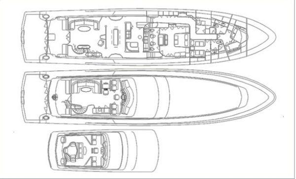 Sea Force IX Custom Sport Yacht 2013 All Boats