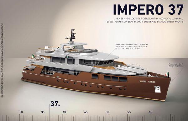 Tecnomar Impero 37 2013 All Boats