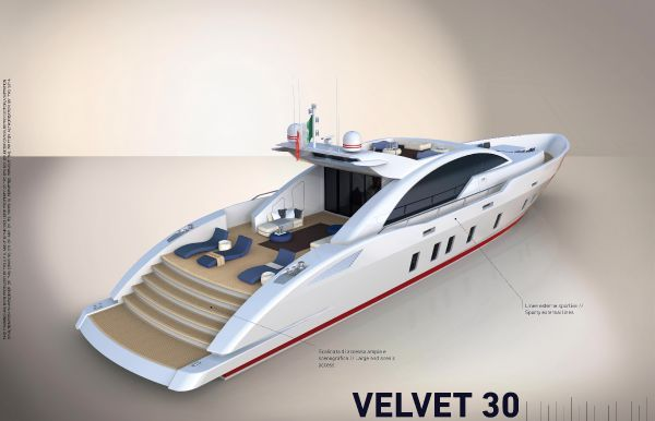 Tecnomar Velvet 30 2013 All Boats