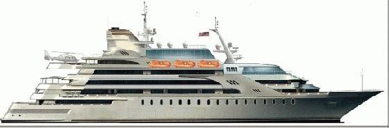 Pavel Shaposhnikov Desig Megayacht 2014 Motor Boats